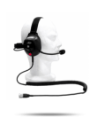 BEHIND THE HEAD - PTT ON THE EAR CUP