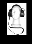 LISTEN ONLY HEADSET HEADBAND VERSION